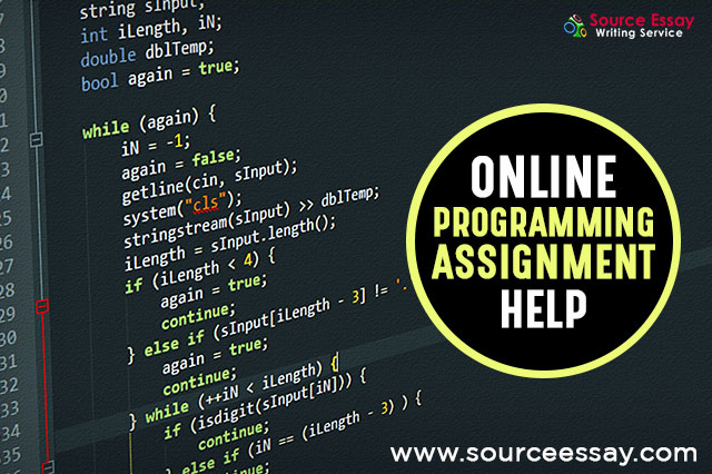 Assignment Help, Online Assignment Help, Assignment Writer, Programming Help