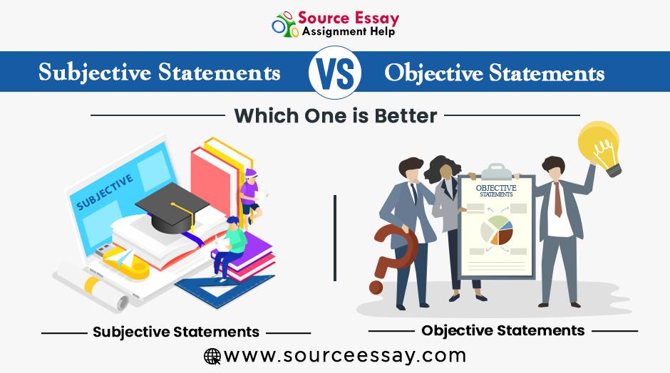 Subjective Vs Objective Statements